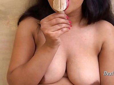 Desi Richa Pussy Fucking With Dildo And Ice Cream